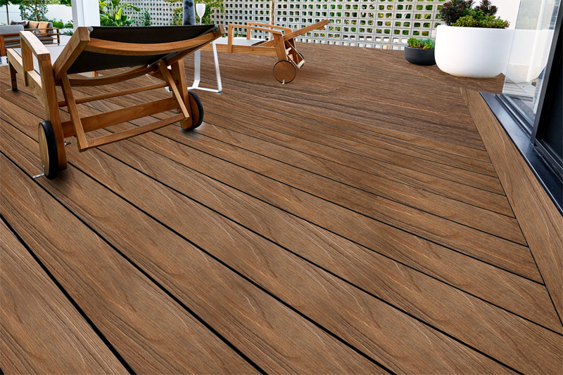 Composite decking perth plastic timber composite decking for Timber decking materials