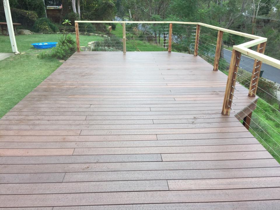 Decking renovation #1 - After!