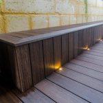 SIROS LED Deck Lighting Bench Seating