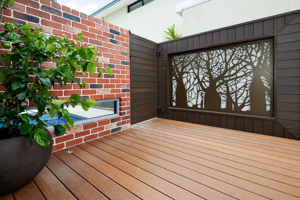 Statement exterior wall cladding