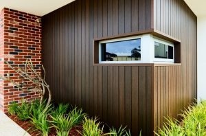 NewTechWood composite wall cladding