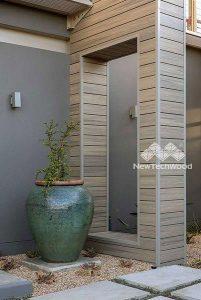 NewTechWood decorative wall cladding
