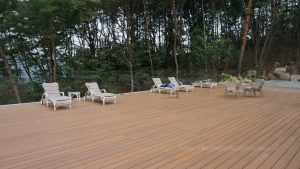 Eco friendly decking from New Tech Wood