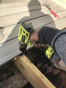 Composite Decking Secret Clip System
