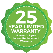NewTechWood 25-Year Warranty