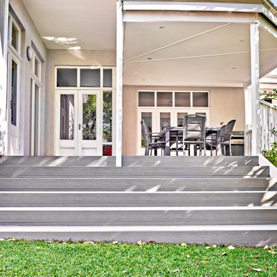 Decking in Stone Grey – Cottesloe, WA