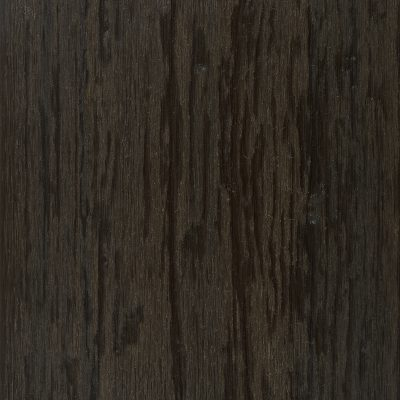 NewTechWood Castellation Cladding in Aged Wood which gives a charred wood finish
