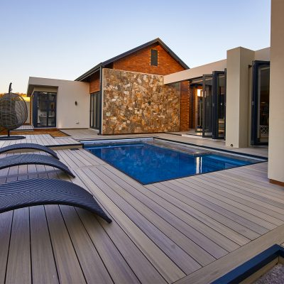 Pool decking in Antique – South Africa