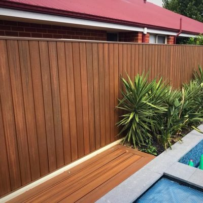Decking and cladding in Teak – Perth, WA