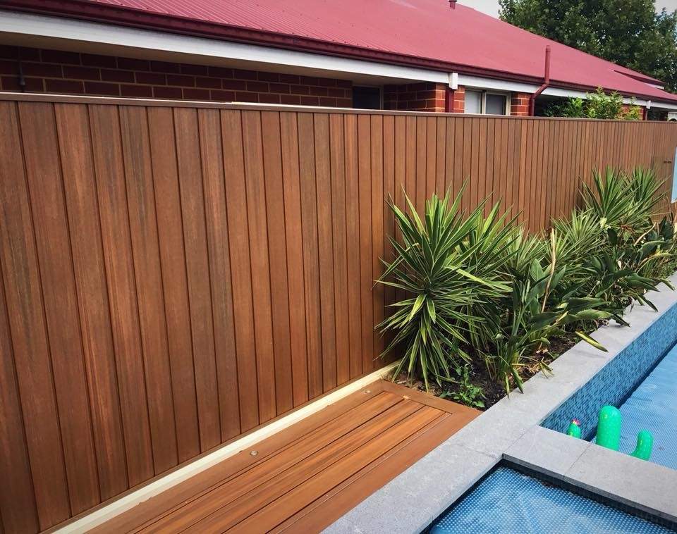 NewTechWood composite timber decking and cladding in Teak Perth