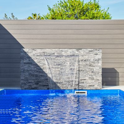 Wall cladding in Silver Grey – Perth, WA
