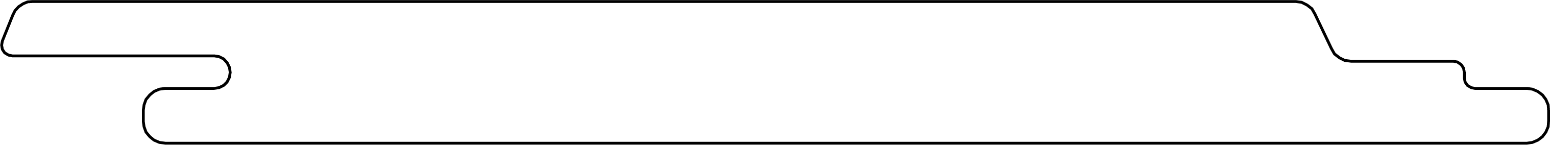 US31 Shadowline Wall Cladding line drawing