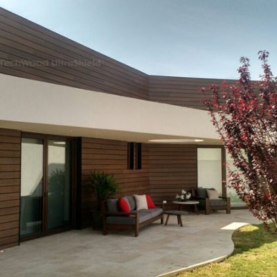 Wall cladding in Teak – Mexico