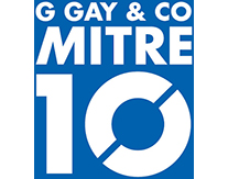 G Gay & Co Mitre 10 Logo