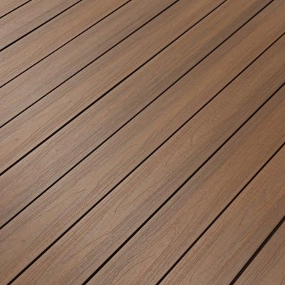 Newtechwood decking Hidden Clip Secret fix system colour IPE