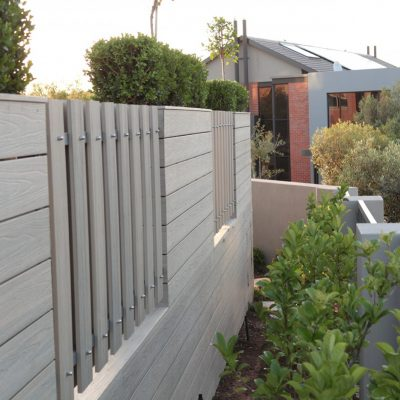 NewTechWood screening fencing Antique