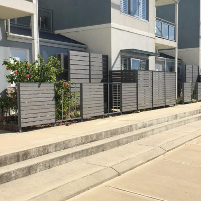 Screen Fencing, Silver Grey