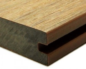 Newtechwood Solid Grooved board fully capped