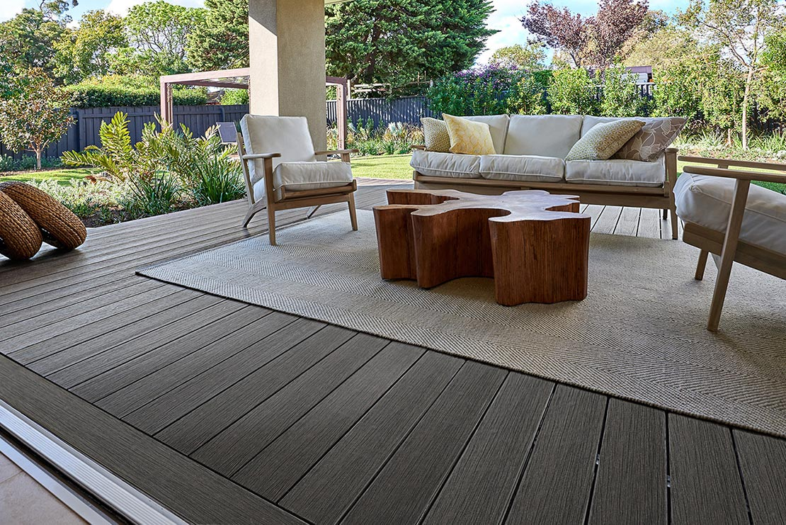 NewTechWood Terrace Range Silver Grey at a home in Tasmania