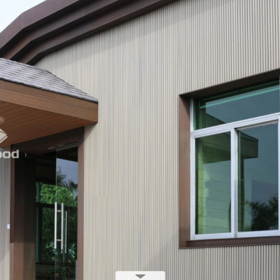 NewTechWood Castellated Cladding ANTIQUE