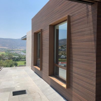 NewTechWood – Mexico Residence with Castellation Cladding