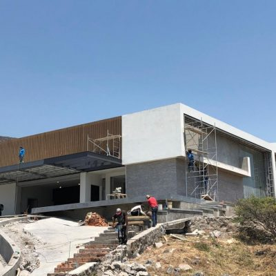 Castellation Cladding Project – Mexico Residence