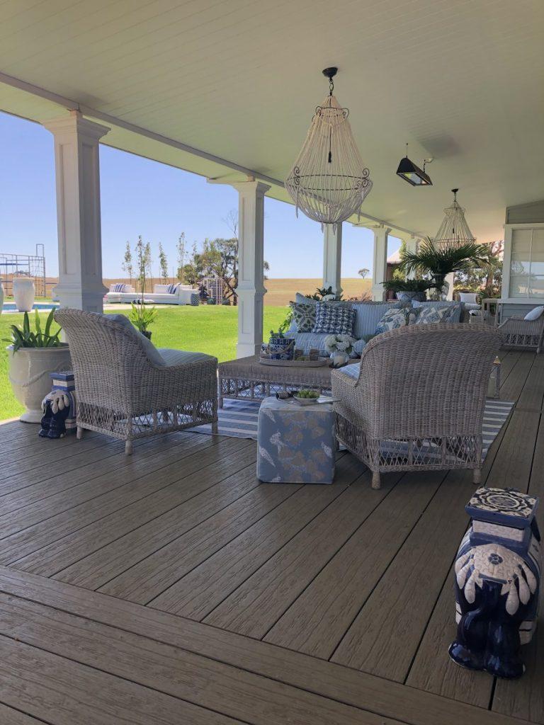Indah Island Hampton Home NewTechWood Deck