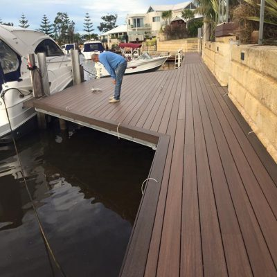 NewTechWood Decking Jetty – Ipe