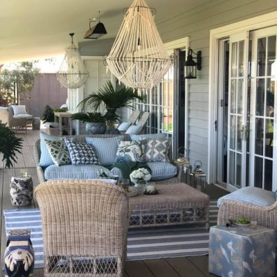 Hamptons Styling with NewTechWood Coastal decking