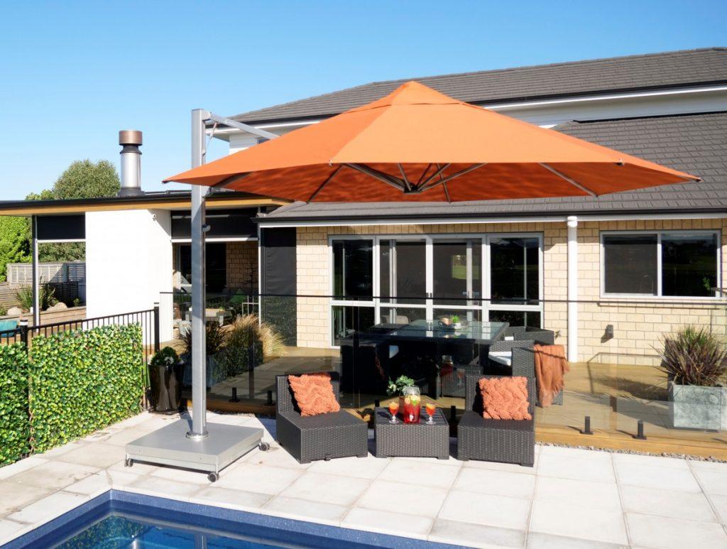 Shadowspec Serenity Cantilever umbrella shade