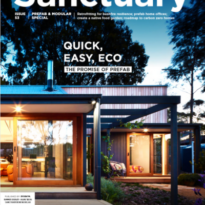Sanctuary magazine NewTechWood
