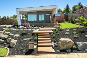 composite decking at a home in Warragul, Victoria