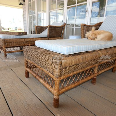Coastal Composite decking in Antique, Hampton Style home, Toodyay project