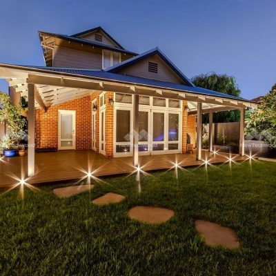 Owlia LED Deck Lights and Composite deck Perth, WA