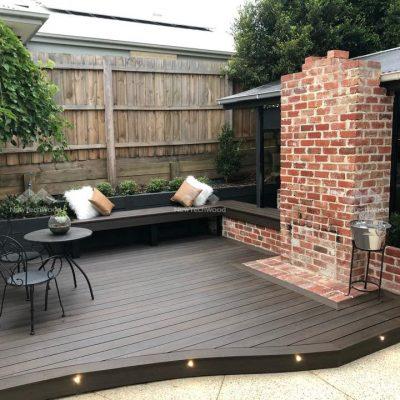 Composite Decking in Walnut, Melbourne, VIC
