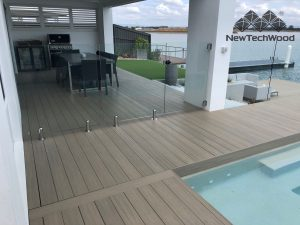 Composite Decking Terrace Range in Antique, QLD
