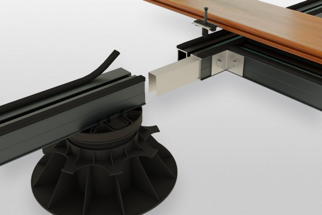 StructurAL decking support system